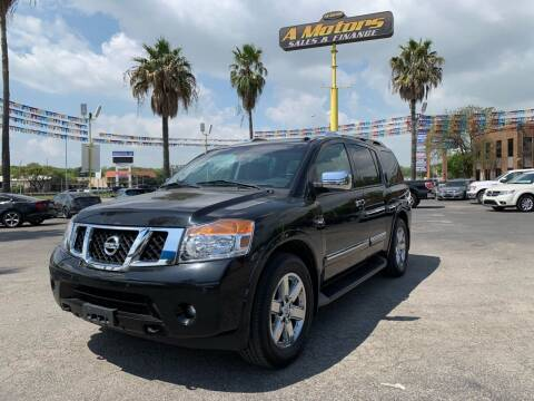 2011 Nissan Armada for sale at A MOTORS SALES AND FINANCE - 5630 San Pedro Ave in San Antonio TX
