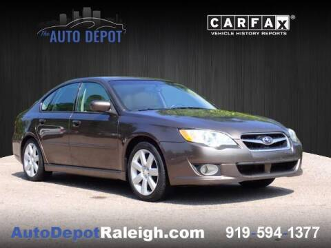 2008 Subaru Legacy for sale at The Auto Depot in Raleigh NC