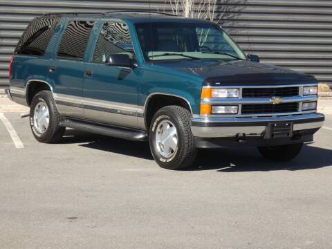 1998 Chevrolet Tahoe for sale at Sun Valley Auto Sales in Hailey ID
