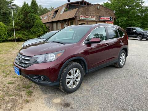 2013 Honda CR-V for sale at Downeast Auto Inc in South Waterboro ME