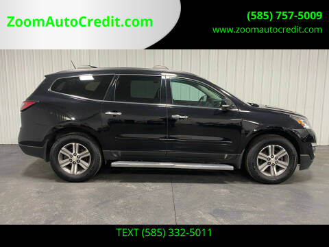 2017 Chevrolet Traverse for sale at ZoomAutoCredit.com in Elba NY