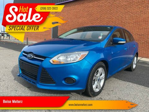 2013 Ford Focus for sale at Boise Motorz in Boise ID