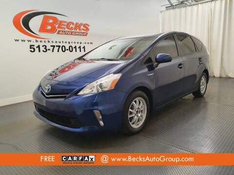 2014 Toyota Prius v for sale at Becks Auto Group in Mason OH
