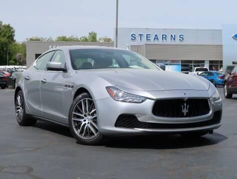 2015 Maserati Ghibli for sale at Stearns Ford in Burlington NC