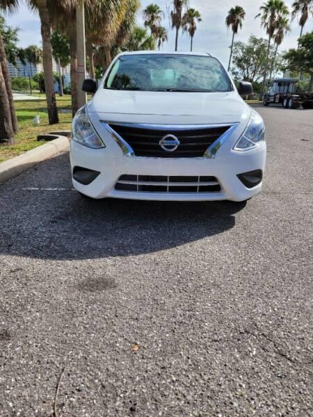 2015 Nissan Versa for sale at ATA   AUTO SALES INC in Sarasota FL