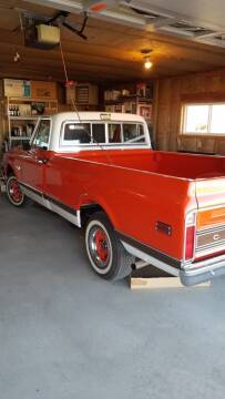 1971 Chevrolet C/K 1500 Series for sale at KNAPP AUTO in Lost River  (Moore) ID