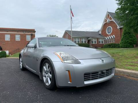 2004 Nissan 350Z for sale at Automax of Eden in Eden NC