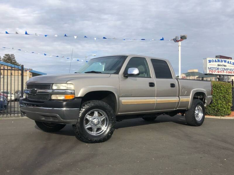 2001 Chevrolet Silverado 2500HD for sale at BOARDWALK MOTOR COMPANY in Fairfield CA
