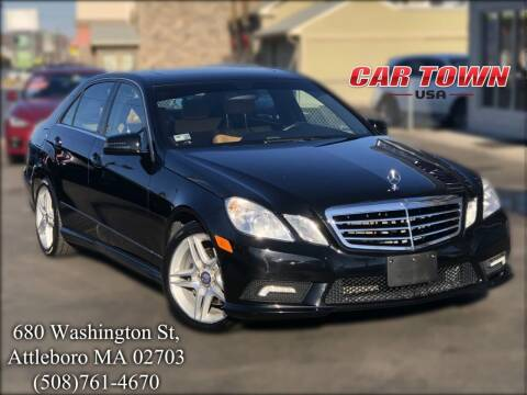 2011 Mercedes-Benz E-Class for sale at Car Town USA in Attleboro MA