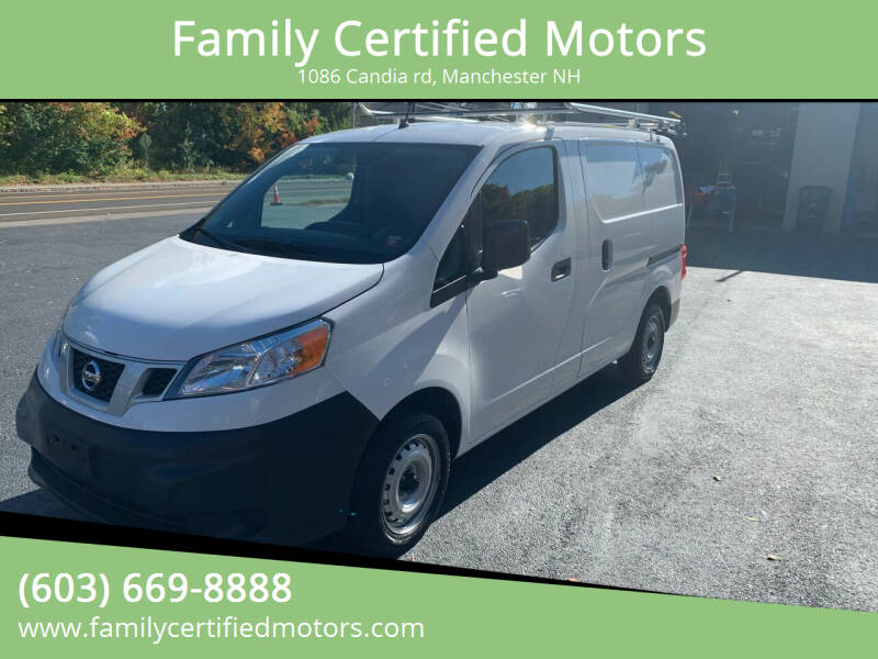 2019 Nissan NV200 for sale at Family Certified Motors in Manchester NH