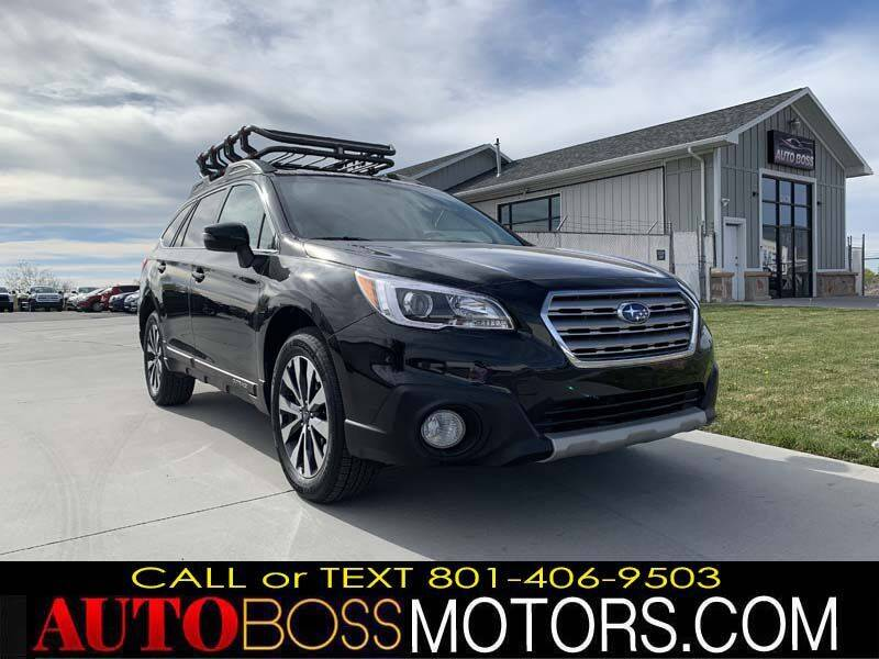 2015 Subaru Outback for sale at Auto Boss in Woodscross UT