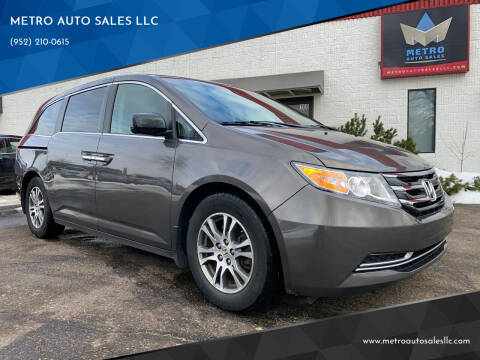 2011 Honda Odyssey for sale at METRO AUTO SALES LLC in Blaine MN