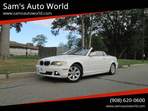 2005 BMW 3 Series for sale at Sam's Auto World in Roselle NJ