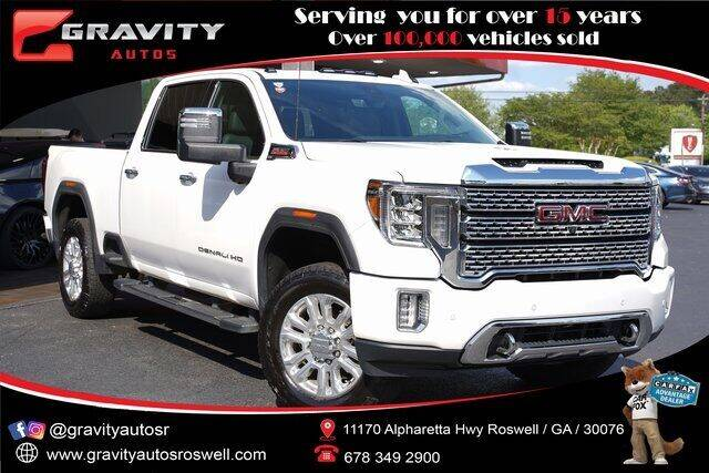 2020 GMC Sierra 2500HD for sale at Gravity Autos Roswell in Roswell GA