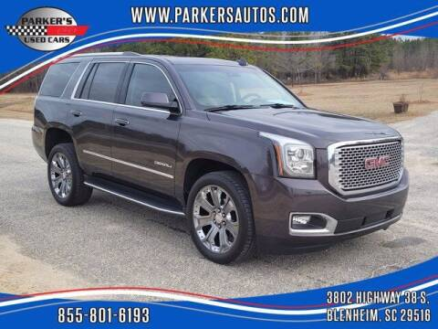 2016 GMC Yukon for sale at Parker's Used Cars in Blenheim SC