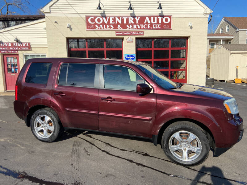 2013 Honda Pilot for sale at COVENTRY AUTO SALES in Coventry CT