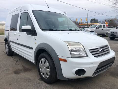 2013 Ford Transit Connect for sale at Creekside Automotive in Lexington NC
