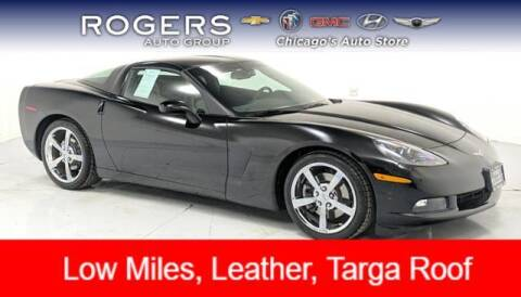 2010 Chevrolet Corvette for sale at ROGERS  AUTO  GROUP in Chicago IL