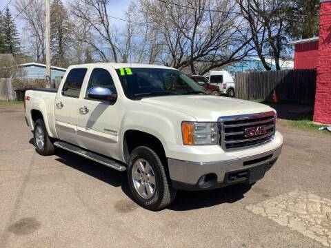 2013 GMC Sierra 1500 for sale at WB Auto Sales LLC in Barnum MN