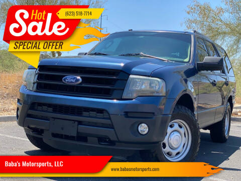 2016 Ford Expedition for sale at Baba's Motorsports, LLC in Phoenix AZ