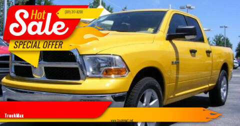 2009 Dodge Ram Pickup 1500 for sale at TruckMax in N. Laurel MD