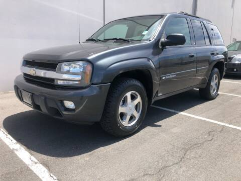 2003 Chevrolet TrailBlazer for sale at City Auto Sales in Sparks NV