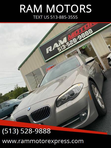 2011 BMW 5 Series for sale at RAM MOTORS in Cincinnati OH