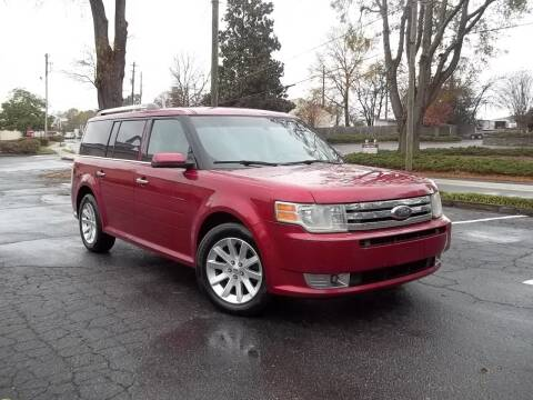 2009 Ford Flex for sale at CORTEZ AUTO SALES INC in Marietta GA
