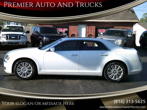 2013 Chrysler 300 for sale at Premier Auto And Trucks in Independence MO