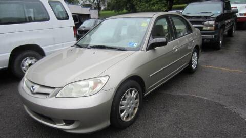 2004 Honda Civic for sale at Auto Outlet of Morgantown in Morgantown WV