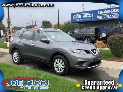 2016 Nissan Rogue for sale at JOE RICCI AUTOMOTIVE in Clinton Township MI