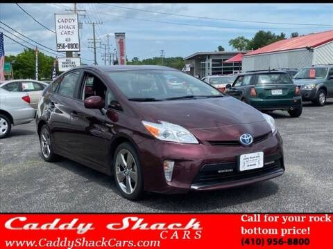 2013 Toyota Prius for sale at CADDY SHACK CARS in Edgewater MD