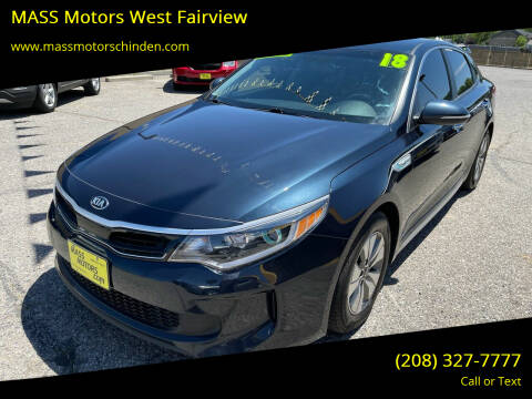 2018 Kia Optima Hybrid for sale at MASS Motors West Fairview in Boise ID
