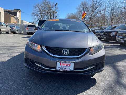 2015 Honda Civic for sale at Elmora Auto Sales in Elizabeth NJ