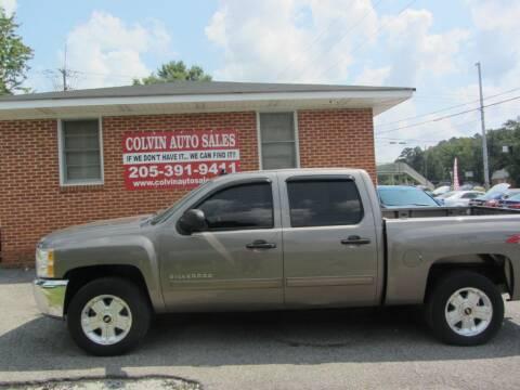 2013 Chevrolet Silverado 1500 for sale at Colvin Auto Sales in Tuscaloosa AL