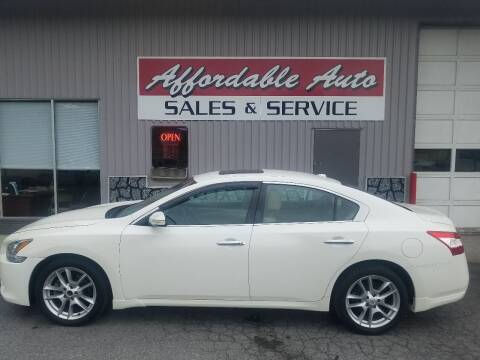 2011 Nissan Maxima for sale at Affordable Auto Sales & Service in Berkeley Springs WV