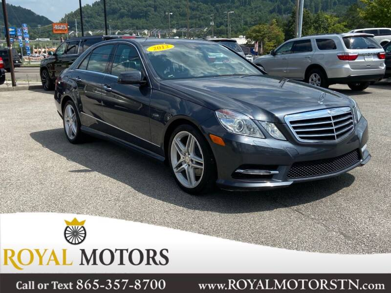 2012 Mercedes-Benz E-Class for sale at ROYAL MOTORS LLC in Knoxville TN