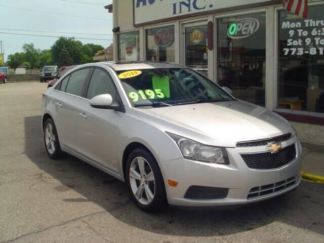 2014 Chevrolet Cruze for sale at G & L Auto Sales Inc in Roseville MI