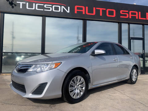 2014 Toyota Camry for sale at Tucson Auto Sales in Tucson AZ