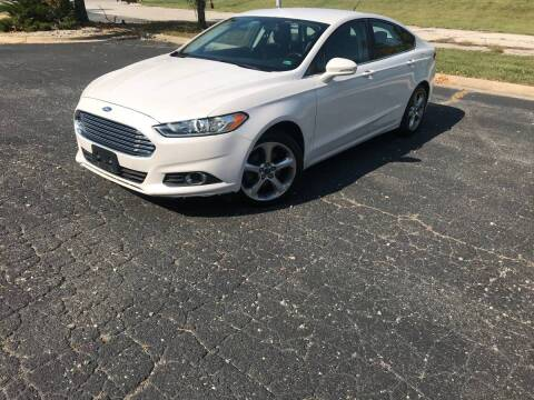 2013 Ford Fusion for sale at Auto Hub in Grandview MO