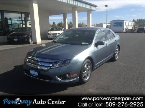 2012 Ford Fusion for sale at PARKWAY AUTO CENTER AND RV in Deer Park WA