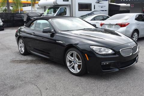 2015 BMW 6 Series for sale at DeWitt Motor Sales in Sarasota FL
