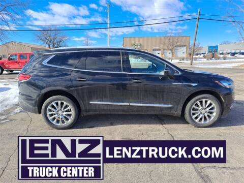 2018 Buick Enclave for sale at LENZ TRUCK CENTER in Fond Du Lac WI