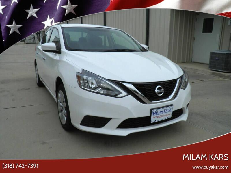2016 Nissan Sentra for sale at MILAM KARS in Bossier City LA