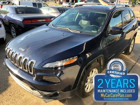 2014 Jeep Cherokee for sale at Pary's Auto Sales in Garland TX