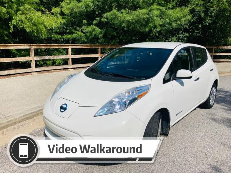 2013 Nissan LEAF for sale at Evolve Autos, LLC in Lawrenceville GA