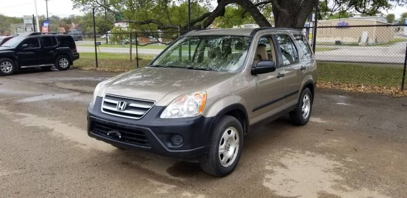 2005 Honda CR-V for sale at STX Auto Group in San Antonio TX