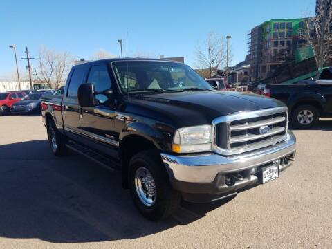 2003 Ford F-250 Super Duty for sale at BERKENKOTTER MOTORS in Brighton CO
