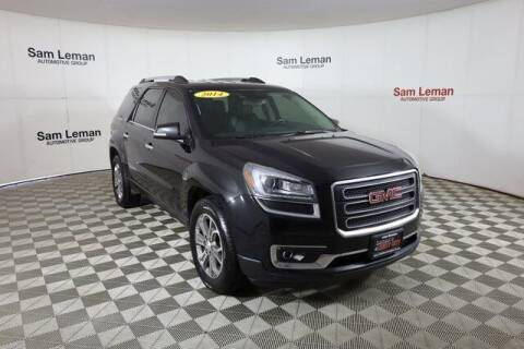2014 GMC Acadia for sale at Leman's Chevy City in Bloomington IL