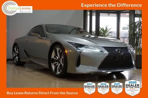 2018 Lexus LC 500 for sale at Dallas Auto Finance in Dallas TX